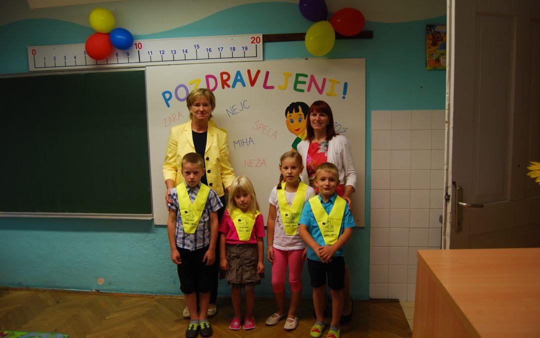 Prvi šolski dan na POŠ Sveti Gregor